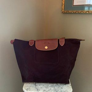 Used Small Le Pliage Shoulder Tote